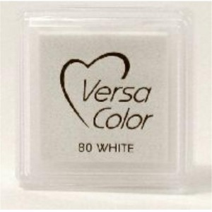 Versacolor Cube Ink Pad - White