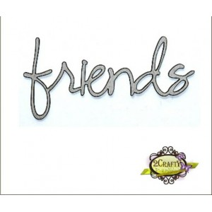 Friends - loopy font