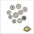 Steampunk Gears Medium