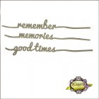 Line words - Good times