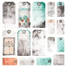 7 Dots Studio - Cotton Candy Dreams - Tags 12x12