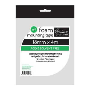 Couture Creations - Foam Mounting Tape - 18mm x 4m
