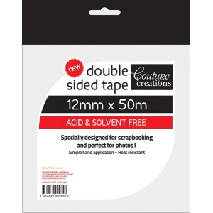 Couture Creations Double Sided Tape 12mm x 50metres