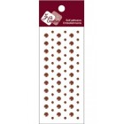 Zva Creative - Dots Crystal - Chocolate