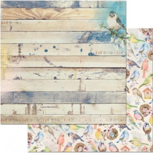 Bo Bunny - Serendipity - Flight printed paper