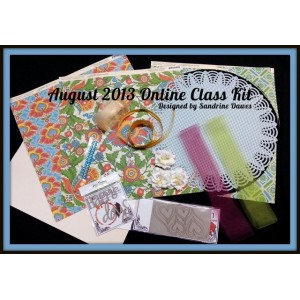 August 13 Online Class kit by Sandrine