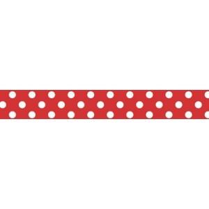 Kaiser - Printed Tape - Polka Dot Red
