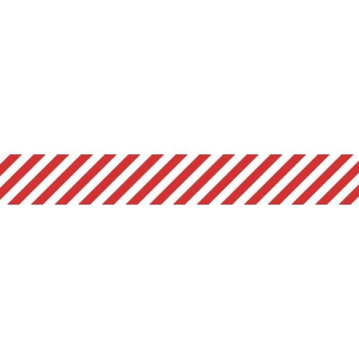 kaiser printed tape candy stripe