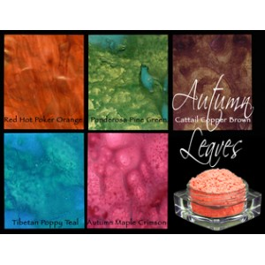 Lindy's Stamp Gang - Autumn Leaves-magicals