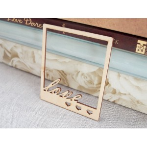Manor House - Wood Elements - LOVE frame
