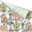 Prima Marketing - Garden Fable - Birdhouse printed paper