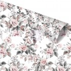 Prima - Rose Quartz Collection - Foil printed paper - Rose dreams
