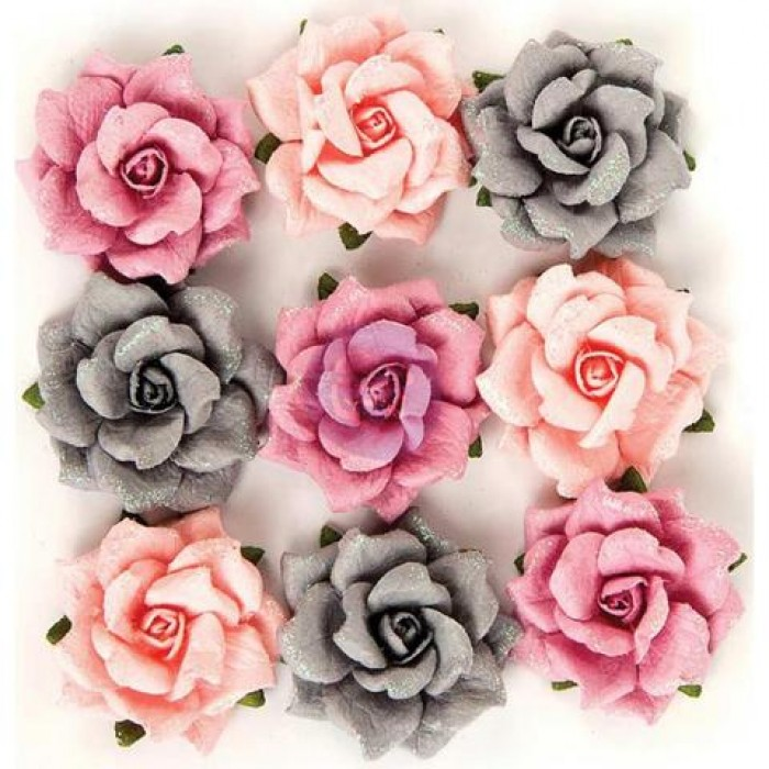 Prima rose quartz collection thassos paper flowers mightylinksfo