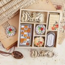 Prima Marketing - Vintage Emporium Collection - Wood Icons