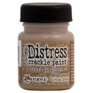 Distress Crackle Paint - Vintage Photo