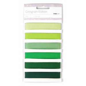 Kaisercraft Ribbon - Grosgrain - Forest