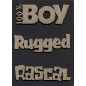 Boy Theme Pack - 100% Boy/Rugged/Rascal