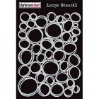 Darkroom Door Large Stencil - Circles
