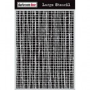 Darkroom Door Large Stencil - Mesh
