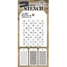 Tim Holtz - Stampers Anonymous - Mini Stencil Set #30