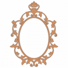 Queen Anne Oval Frame
