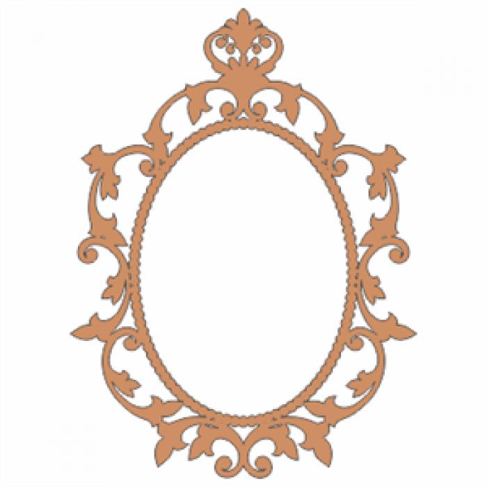 Queen Anne Oval FrameOval Vintage Frames Png